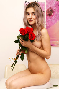 Model Lady Jay in A Valentines Surprise